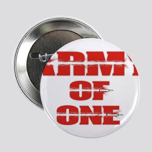 "army of one 2.25"" Button"