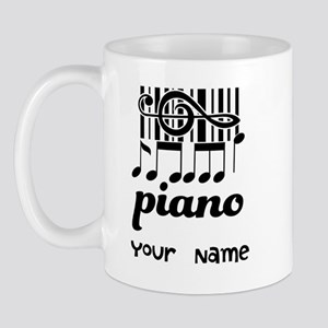 Personalized Piano Gift Mug