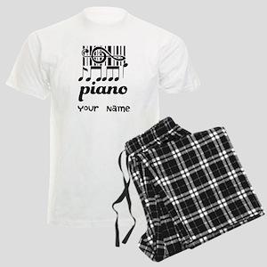 Personalized Piano Gift Men's Light Pajamas