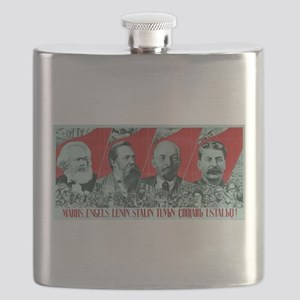 Marx, Engels, Lenin and Stalin Flask