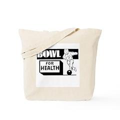 Bowl for Health Tote Bag