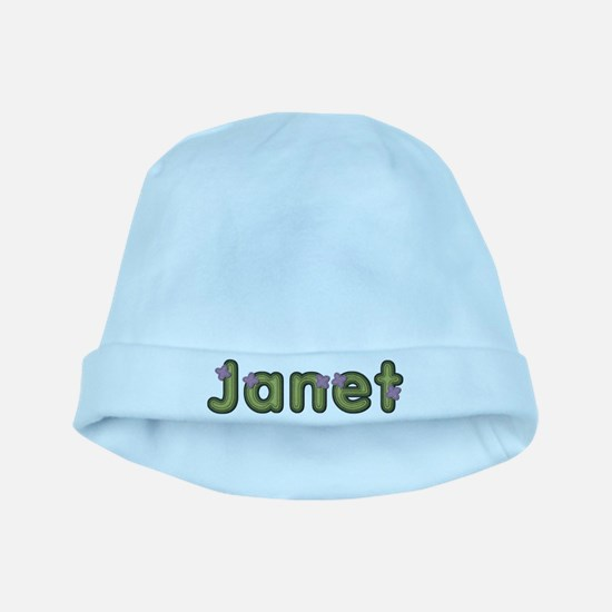 Janet Spring Green baby hat