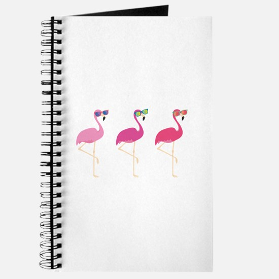 Cool Flamingos Journal