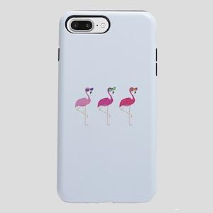 Cool Flamingos iPhone 7 Plus Tough Case