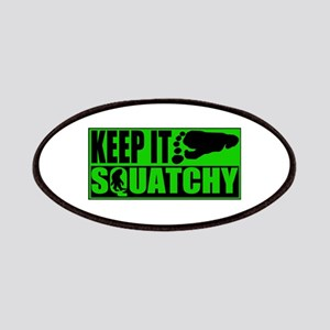 Keep it Squatchy green Patches