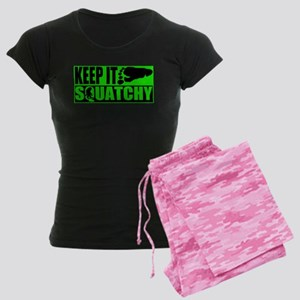 Keep it Squatchy green Women's Dark Pajamas