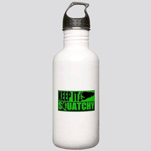 Keep it Squatchy green Stainless Water Bottle 1.0L
