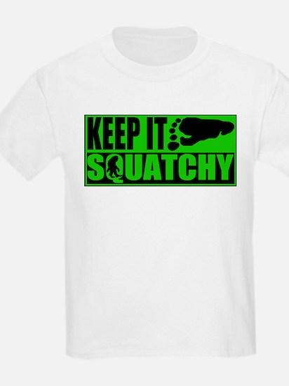 Keep it Squatchy green T-Shirt