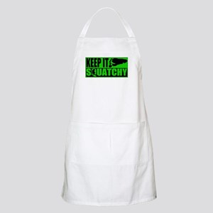 Keep it Squatchy green Apron