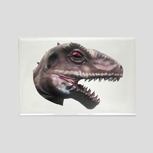 T-Rex Head Rectangle Magnet
