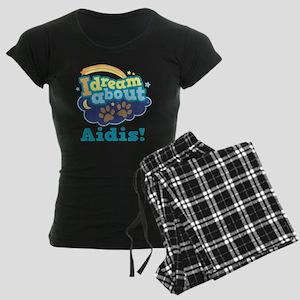 Cute Aidi Quote Women's Dark Pajamas