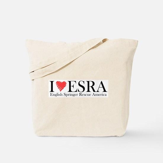 I (heart) ESRA w/URL Tote Bag