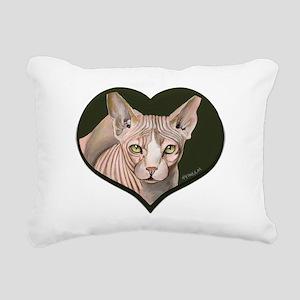 sphynx3 Rectangular Canvas Pillow