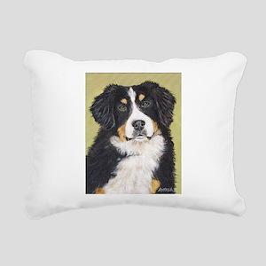 bernese2 Rectangular Canvas Pillow