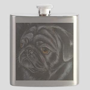 pugblackacrylicsq Flask
