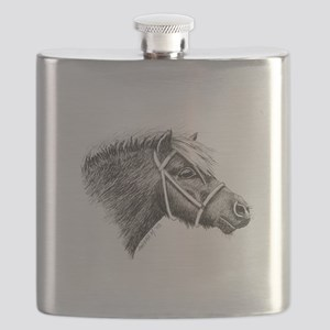 ink_shetlandpony Flask