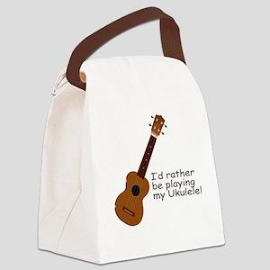 ukuleletshirt Canvas Lunch Bag