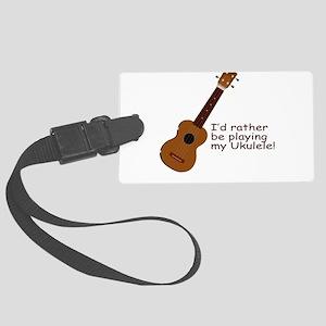 ukuleletshirt Large Luggage Tag