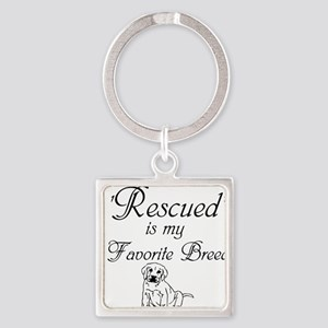 Rescued Dog Keychains