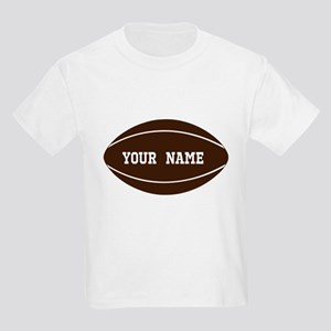 Personalized Rugby Ball Kids Light T-Shirt