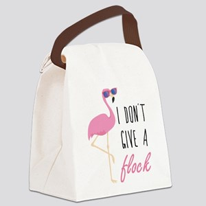 I Don't Give A Flock Canvas Lunch Bag