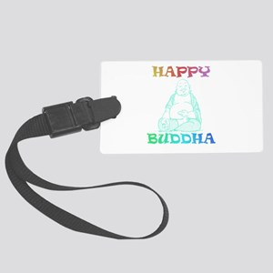 HappyBuddha Large Luggage Tag