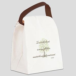 Buddha-PresentMoment Canvas Lunch Bag