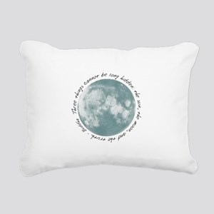 Buddha-Moon Rectangular Canvas Pillow