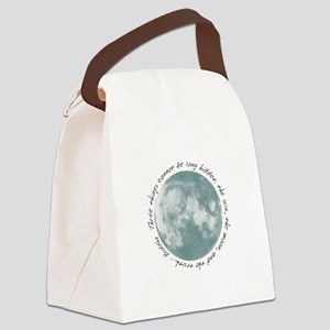 Buddha-Moon Canvas Lunch Bag