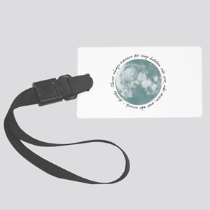 Buddha-Moon Large Luggage Tag
