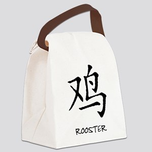 chinese-rooster Canvas Lunch Bag