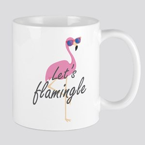 Let's Flamingle Mug