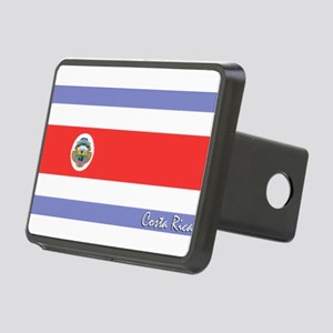 flag-costarica Rectangular Hitch Cover