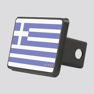 flag-greece Rectangular Hitch Cover