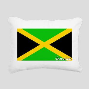 flag-jamaica Rectangular Canvas Pillow