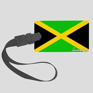 flag-jamaica Large Luggage Tag