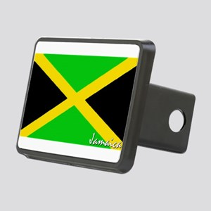 flag-jamaica Rectangular Hitch Cover