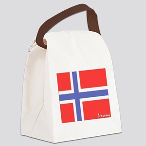 flag-norway Canvas Lunch Bag