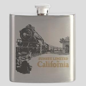 sunset train Flask