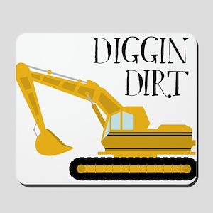 Digging Dirt Mousepad