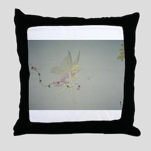 StephanieAM Fairydust Throw Pillow