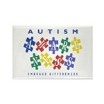 Autism Awareness Rectangle Magnet