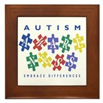 Autism Awareness Framed Tile
