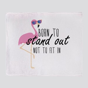 Born To Stand Out Stadium Blanket