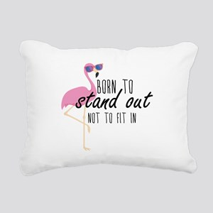 Born To Stand Out Rectangular Canvas Pillow