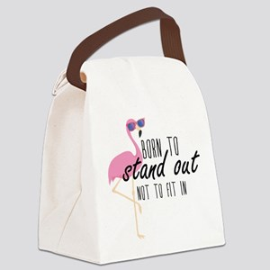Born To Stand Out Canvas Lunch Bag