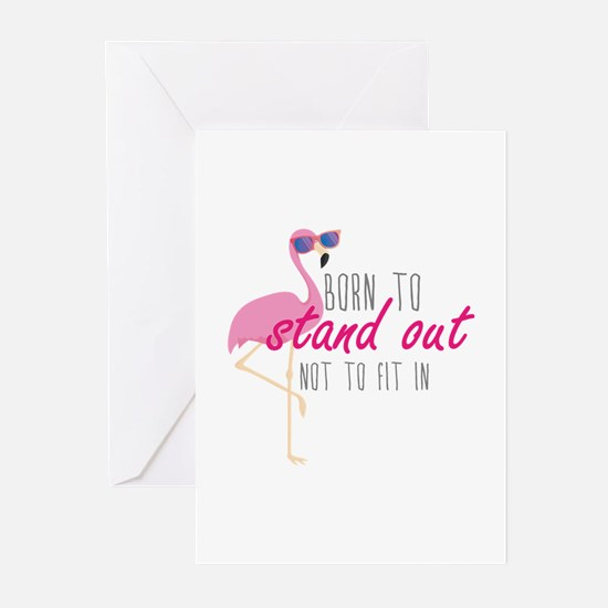Born To Stand Out Greeting Cards (Pk of 20)