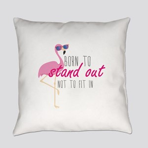 Born To Stand Out Everyday Pillow
