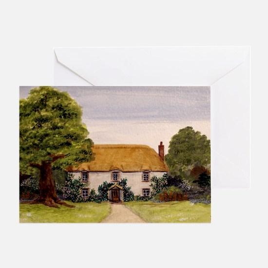 StephanieAM Cottage Greeting Card