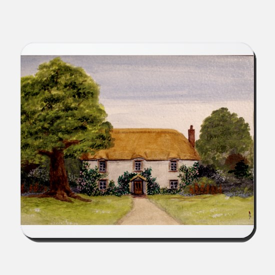 StephanieAM Cottage Mousepad